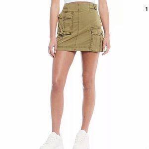 [Free People] NWT Erika Utility Skirt